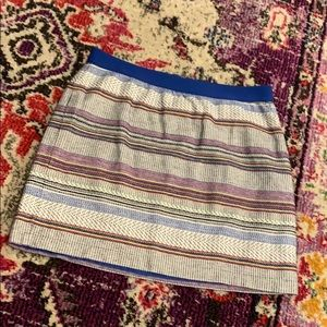 GAP Striped Skirt